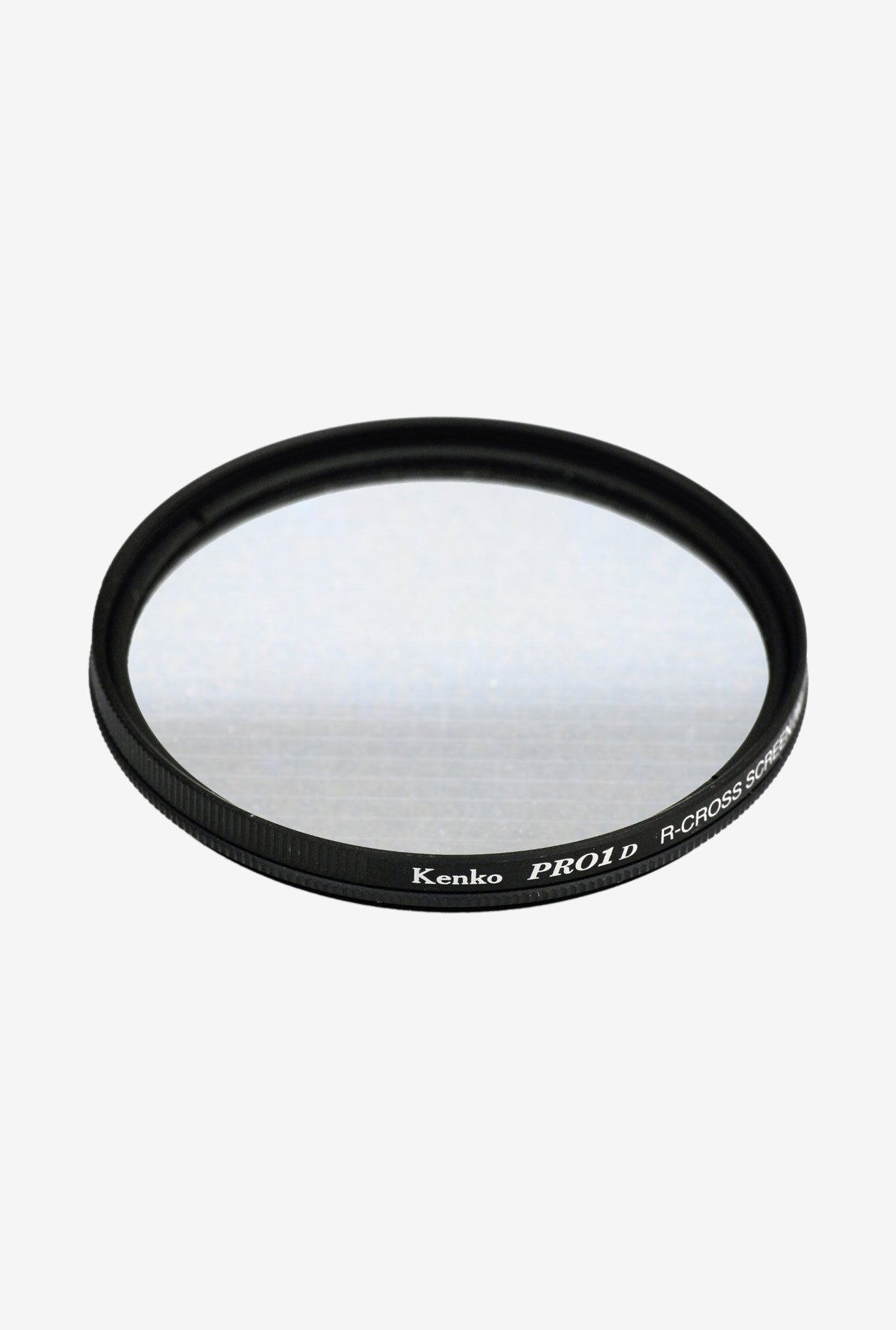 Kenko 77mm Pro1D R-Cross Screen Wide Lens Filter (Black)