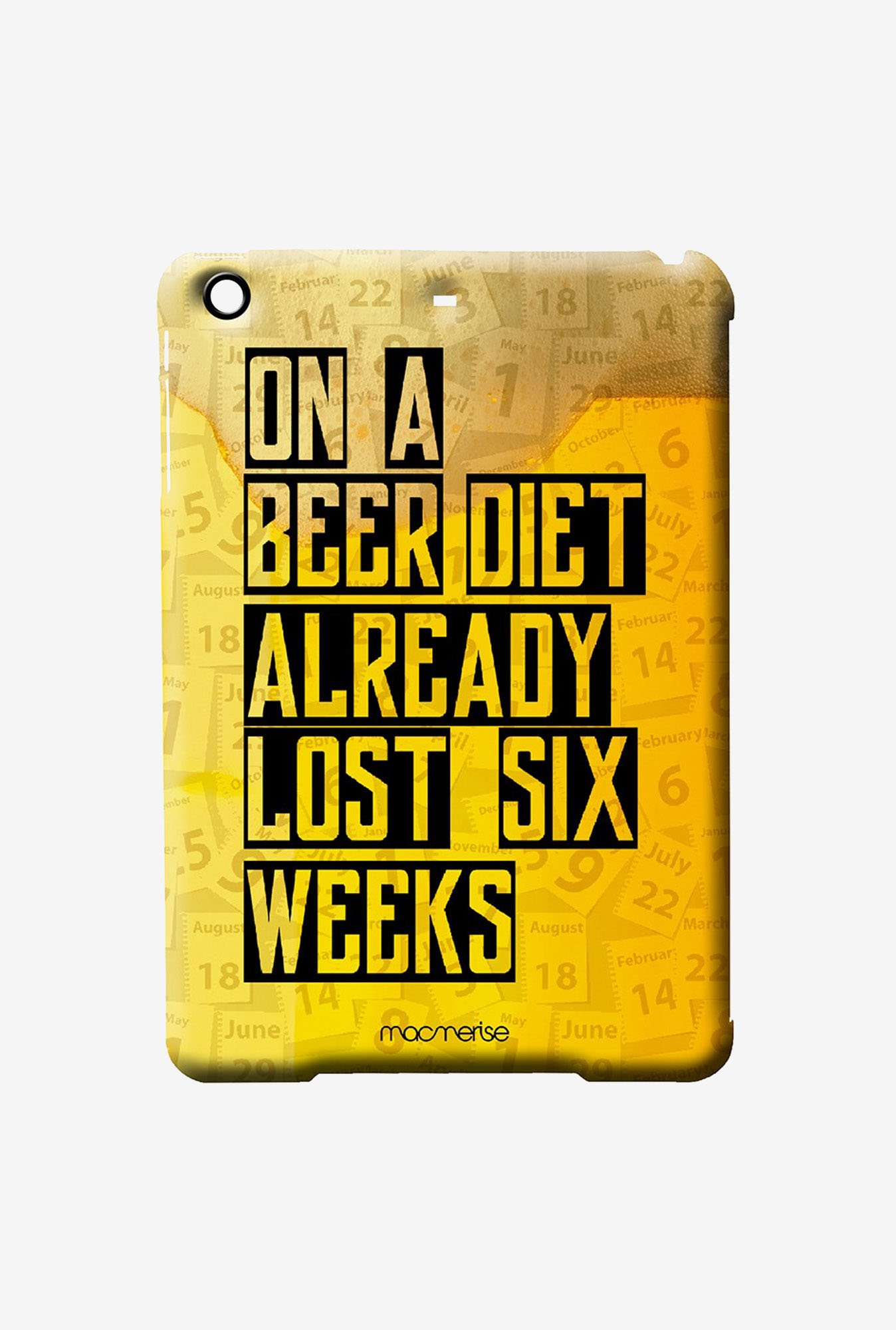 Macmerise Beer Diet Pro Case for iPad Air