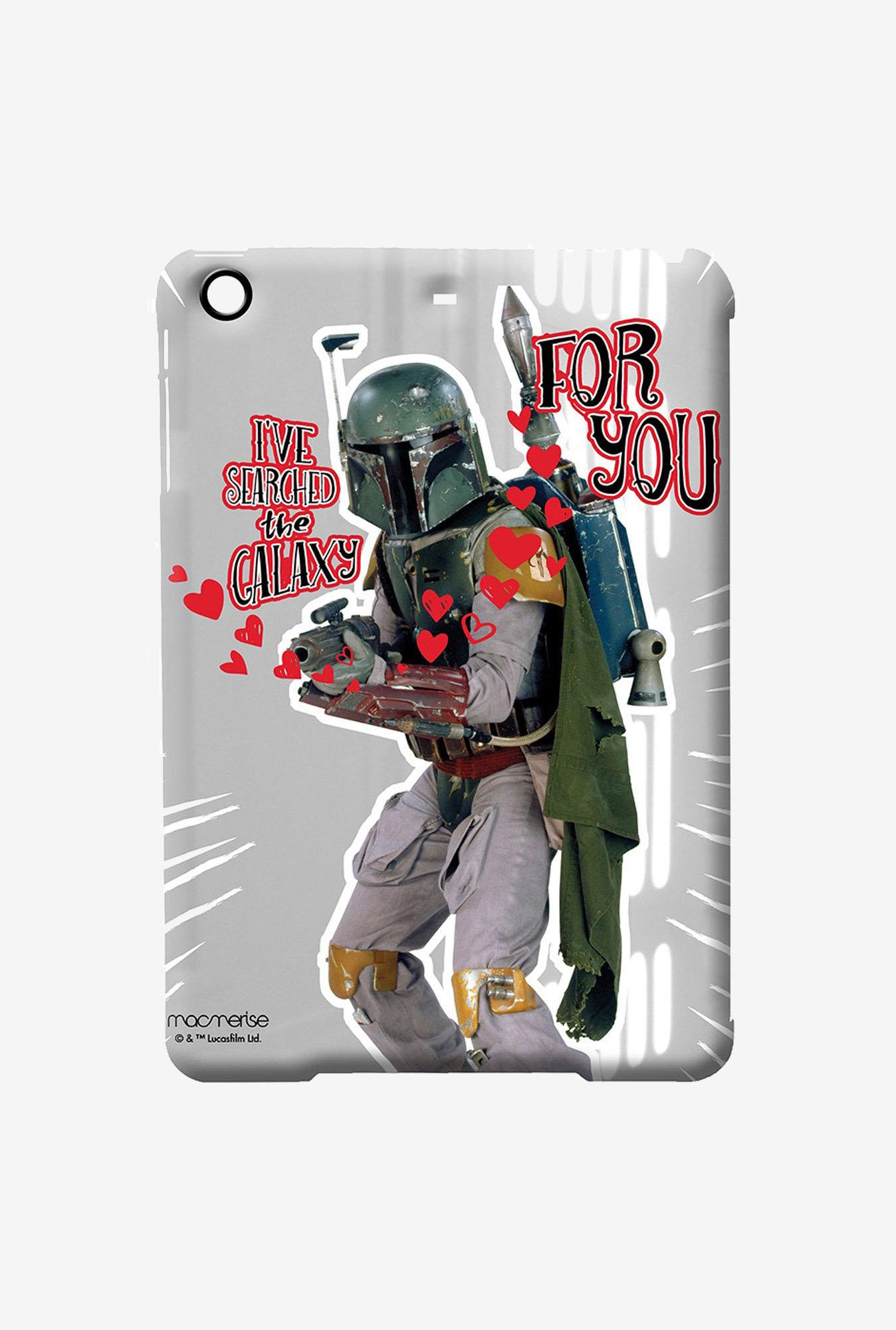 Macmerise Trooper Lovestruck Pro Case for iPad Air