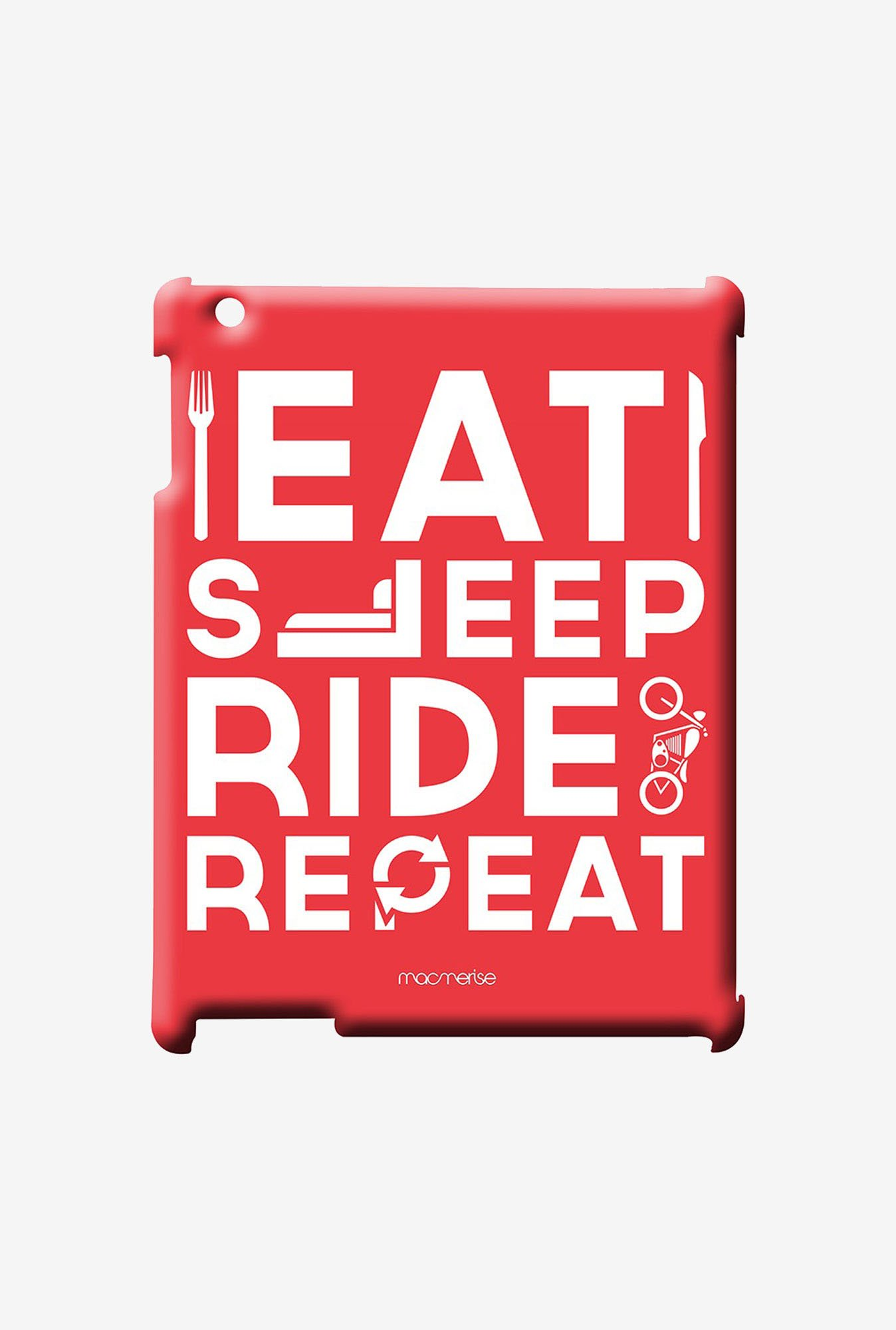 Macmerise Eat Sleep Ride Repeat Pro Case for iPad Mini 1/2/3