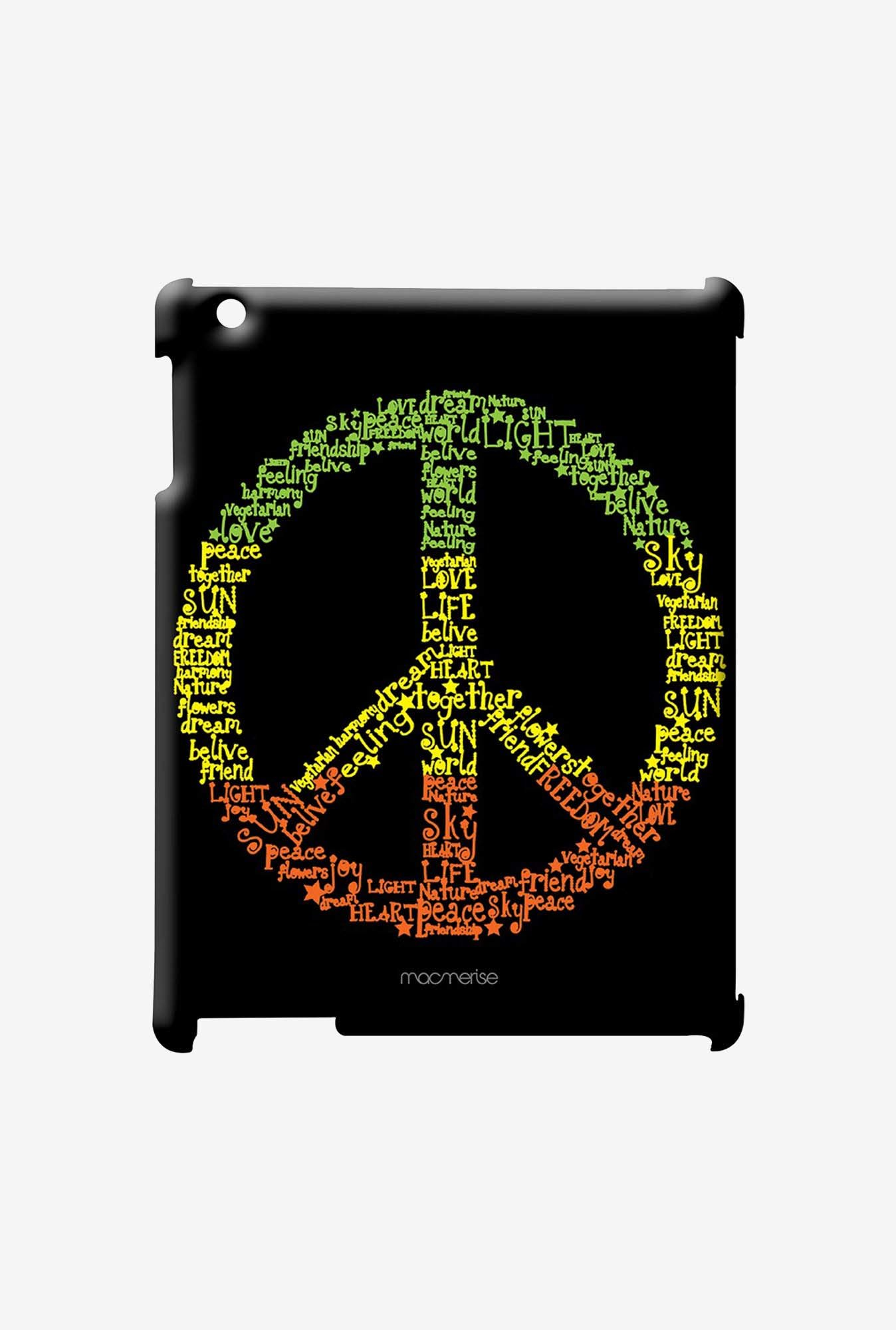 Macmerise Symbol of Peace Pro Case for iPad Air