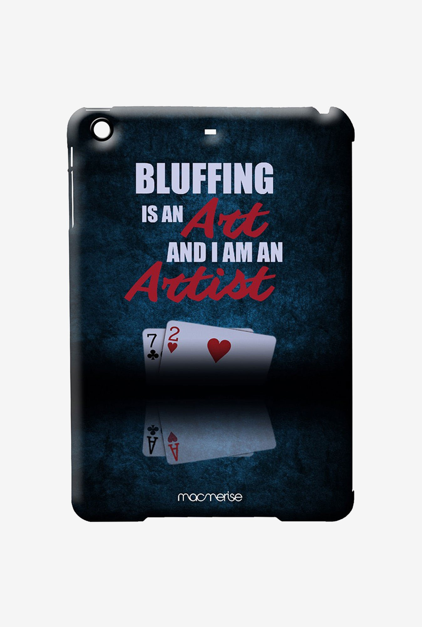 Macmerise Art of Bluffing Pro Case for iPad Air