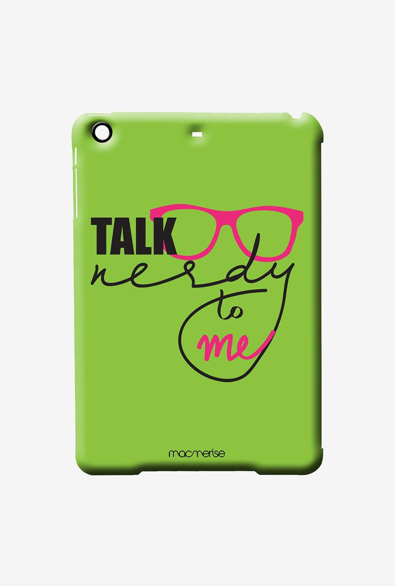 Macmerise Nerd Talk Green Pro Case for iPad Air