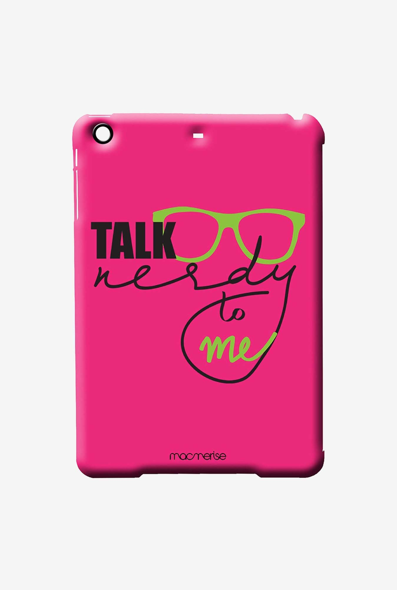 Macmerise Nerd Talk Pink Pro Case for iPad Air 2