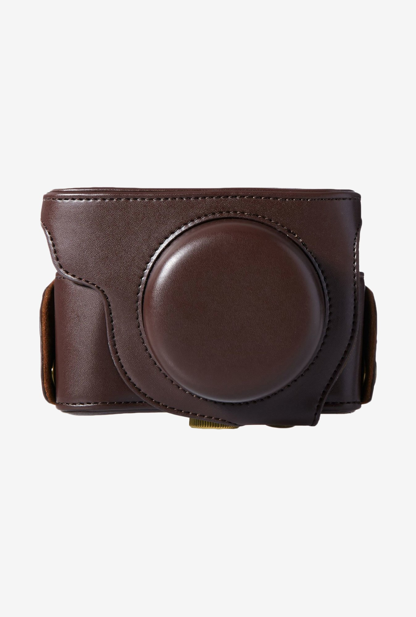 MegaGear Leather Camera Case for Olympus XZ-2 Camera (Brown)