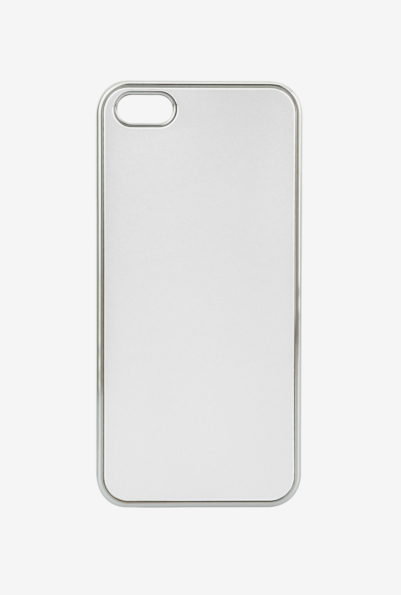 Memumi Classic Back Cover for iPhone 5 (Silver)