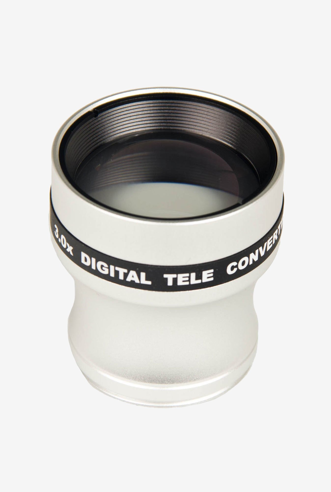Bower VL337N 3X Telephoto 37mm Conversion Lens (White)