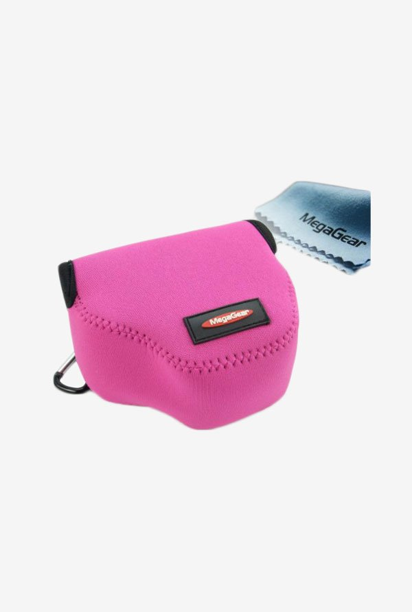 MegaGear Neoprene Camera Case for Sony NEX5 (Magenta)