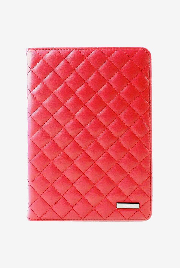 Memumi Fashion Flip Cover for iPad mini 1 (Red)