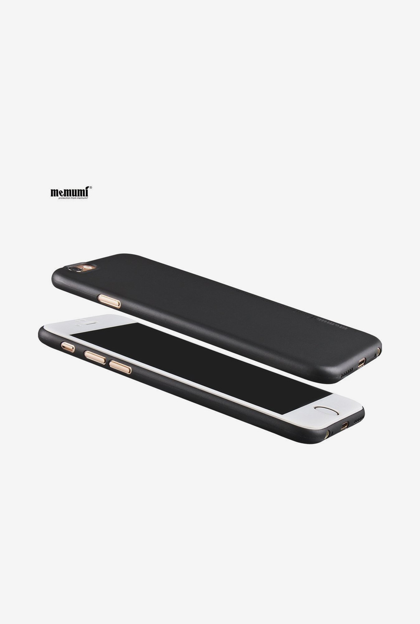 Memumi Ultra-Slim Back Cover for iPhone 6s Plus (Black)