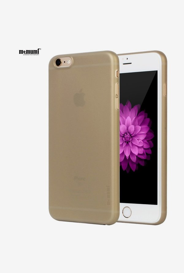 Memumi Ultra-Slim Back Cover for iPhone 6s Plus (Golden)