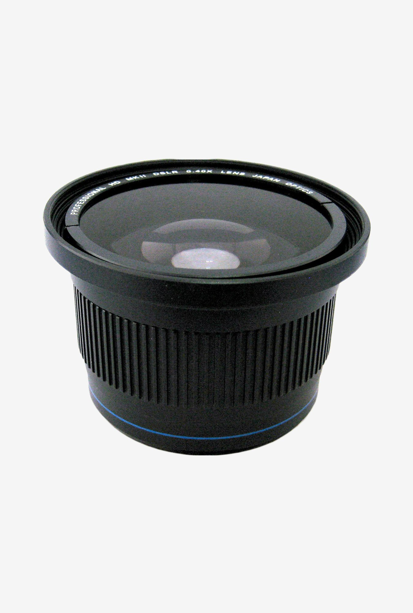 Zeikos Ze-3458F 0.40X High Definition Fisheye Lens (Black)