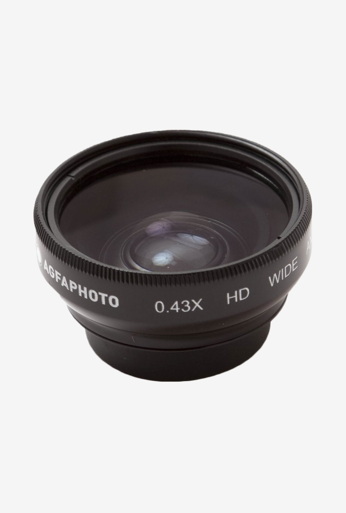 Zeikos Agfa 0.43X Magnetic Wide Angle Lens (Black)