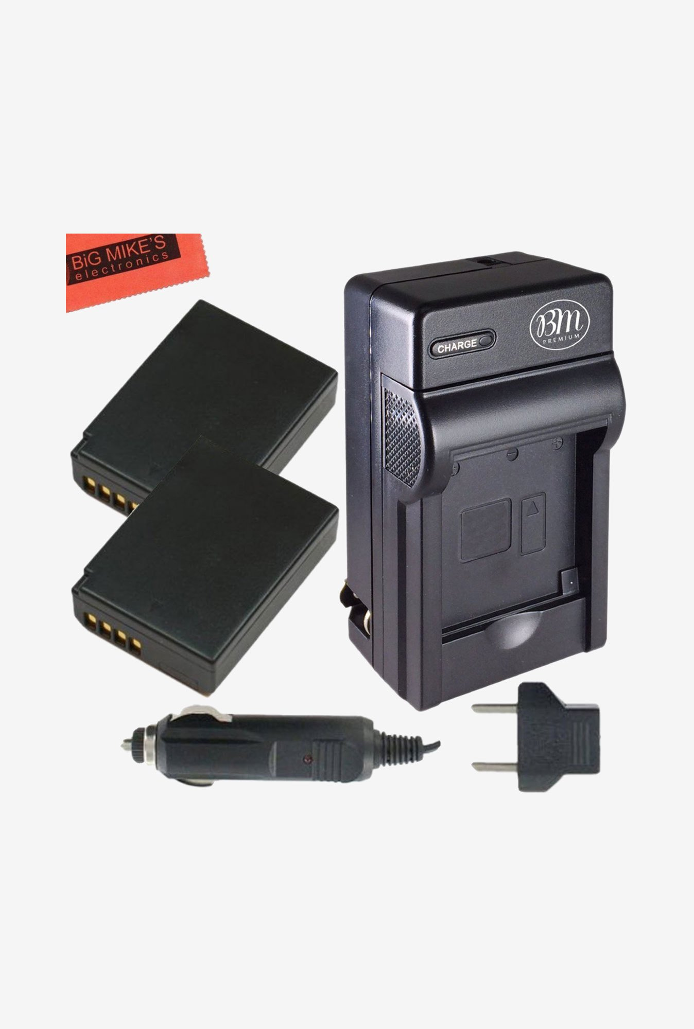 Big Mike's Lp-E10 1100 mAh Battery & Charger Kit (Black)