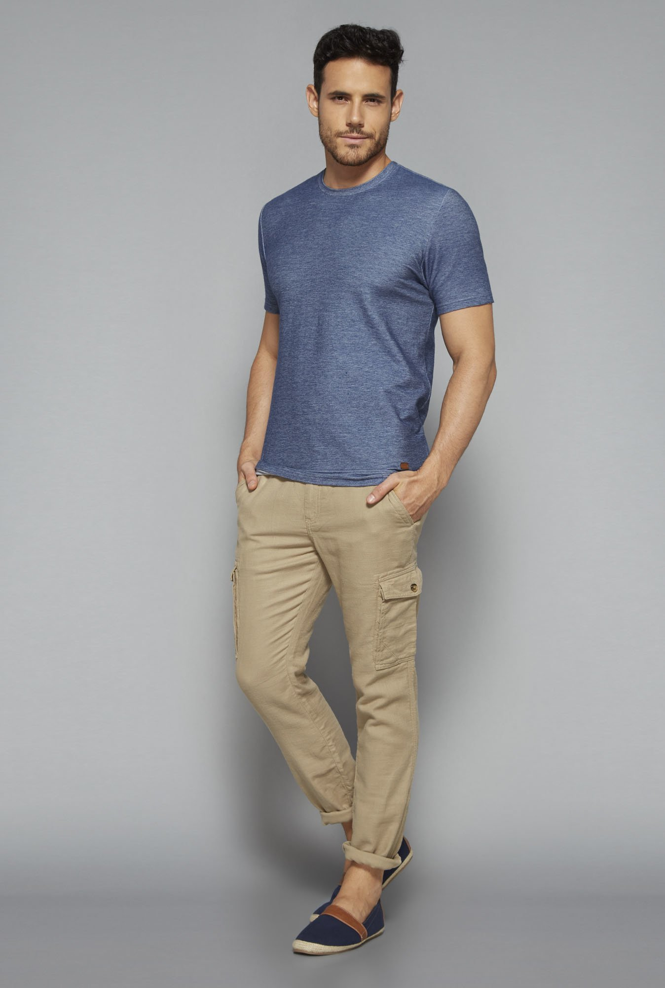ETA by Westside Beige Slim Fit Chinos