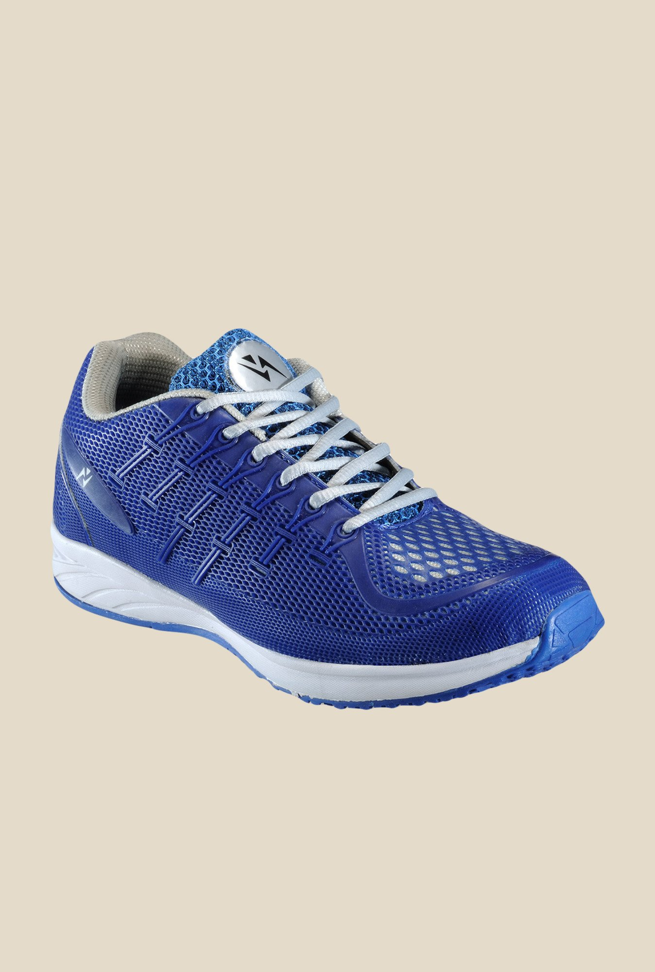 Yepme Blue & Grey Running Shoes