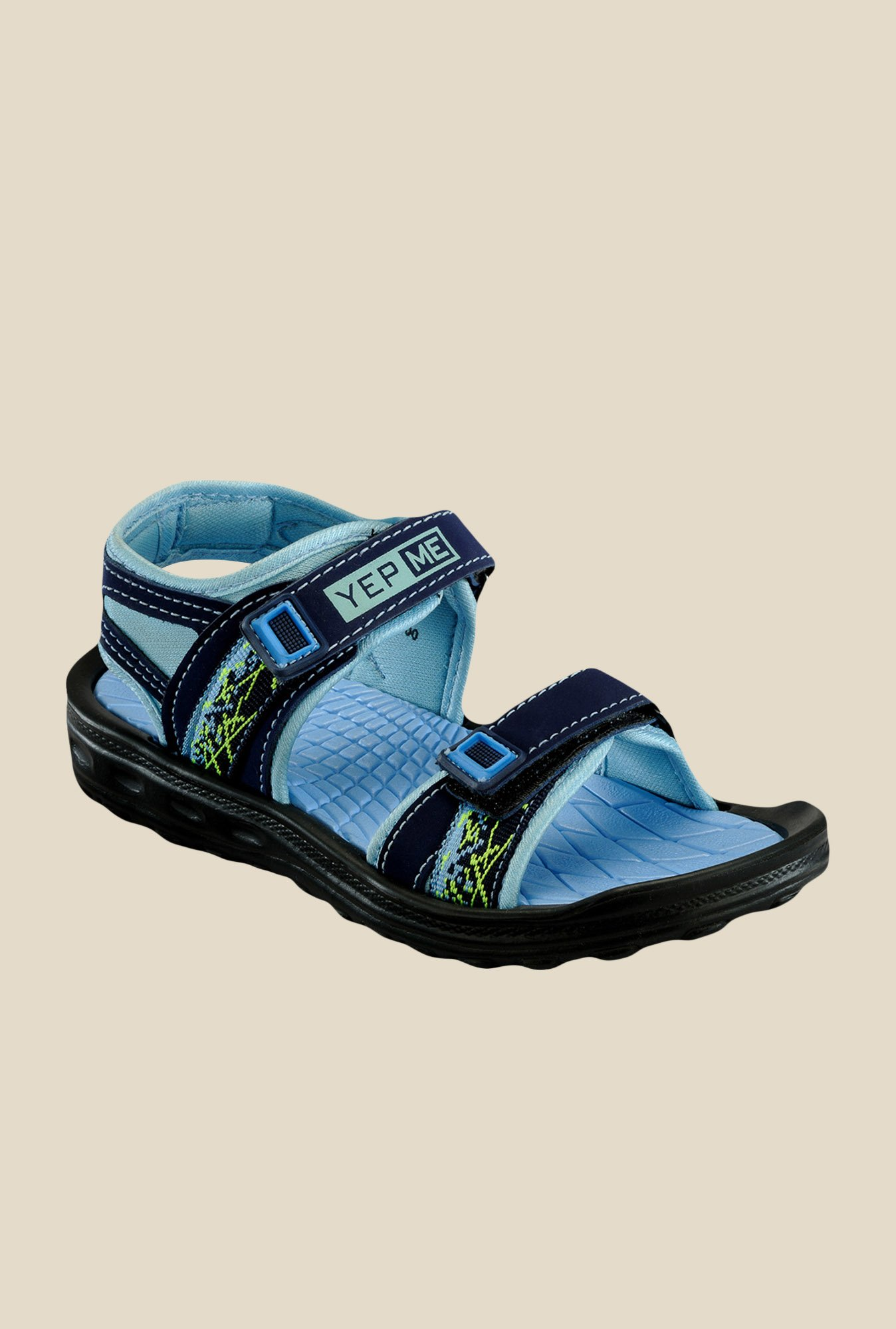 Yepme Navy Floater Sandals