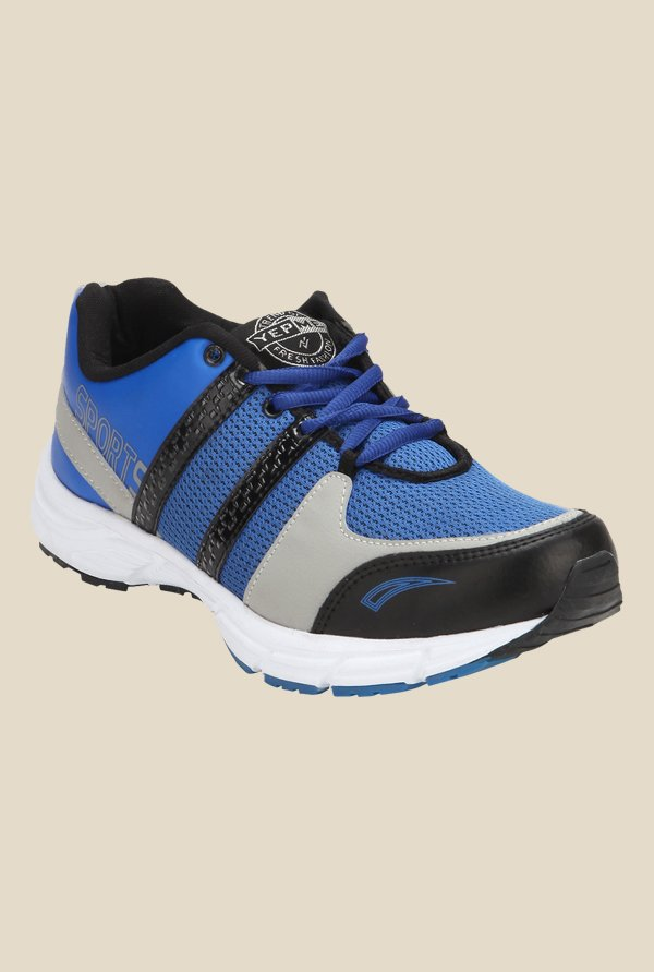 Yepme Premium Blue & Grey Running Shoes