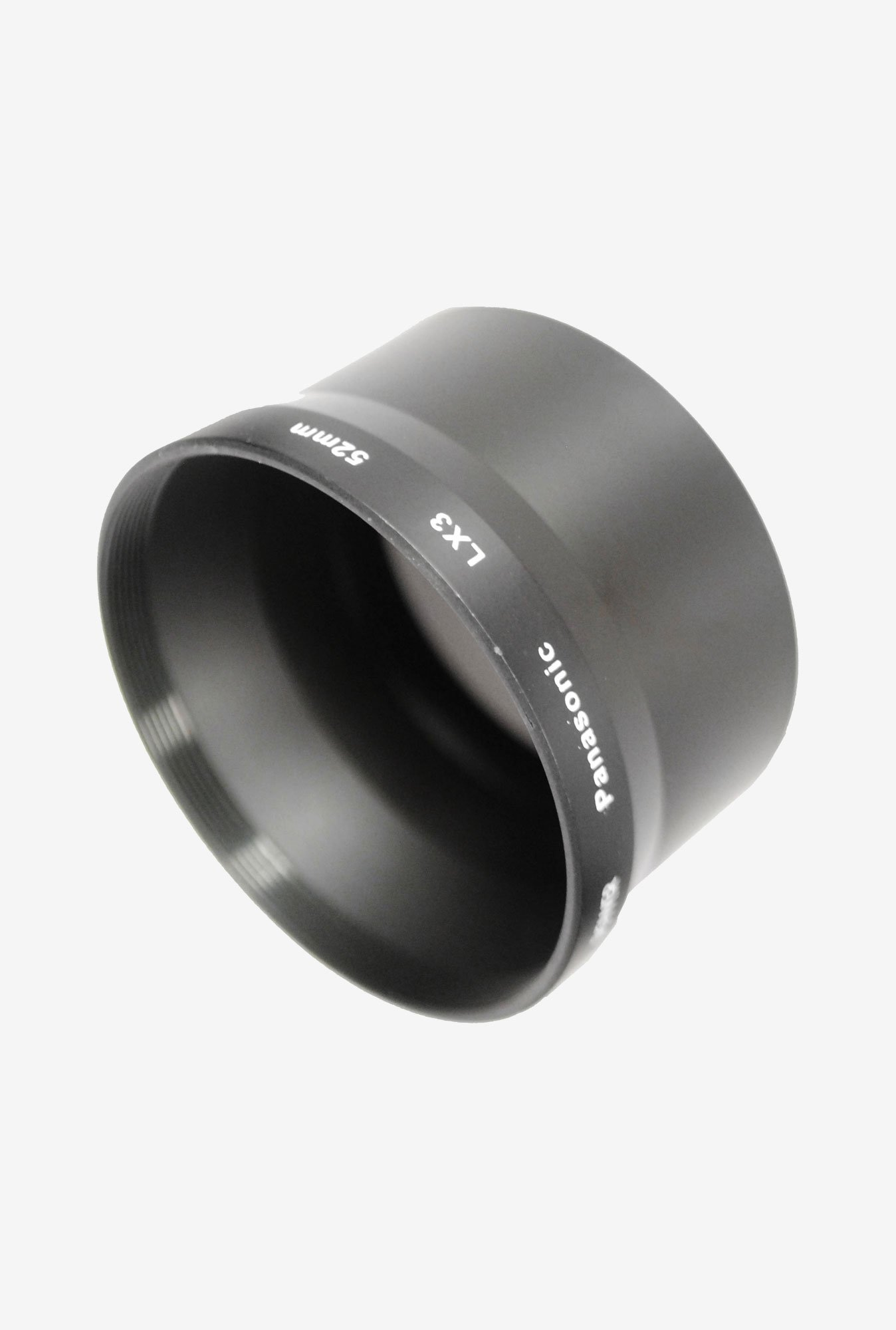 Bower A4552PA3 Panasonic Lx-3 52 Mm Adapter Tube (Black)