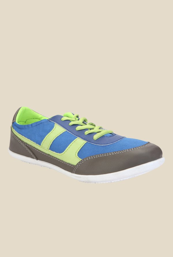 Yepme Blue & Green Sneakers