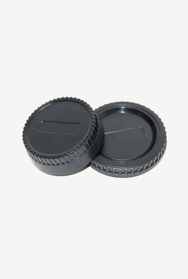 Cowboy Studio L-R2 Front and Rear Lens Cap for Nikon Camera