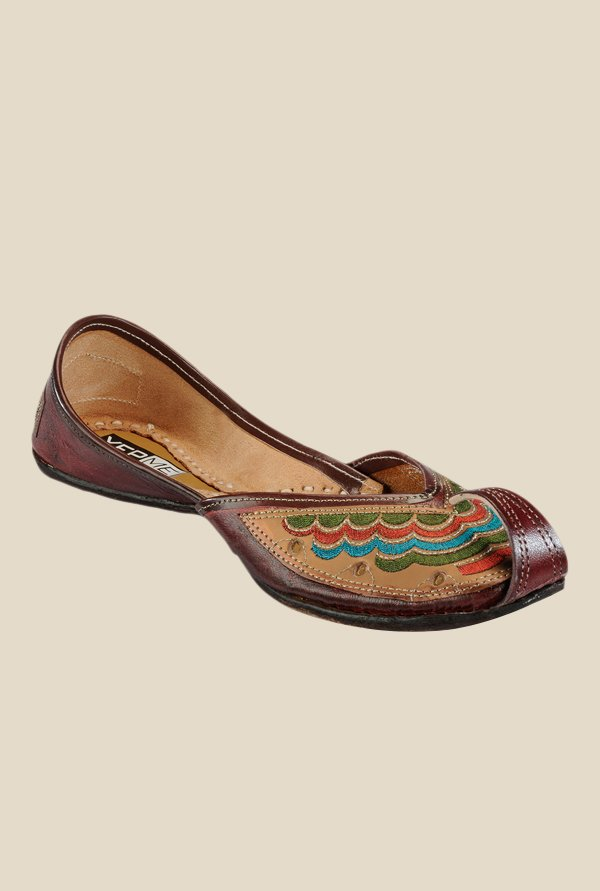 Yepme Brown Jutti Shoes