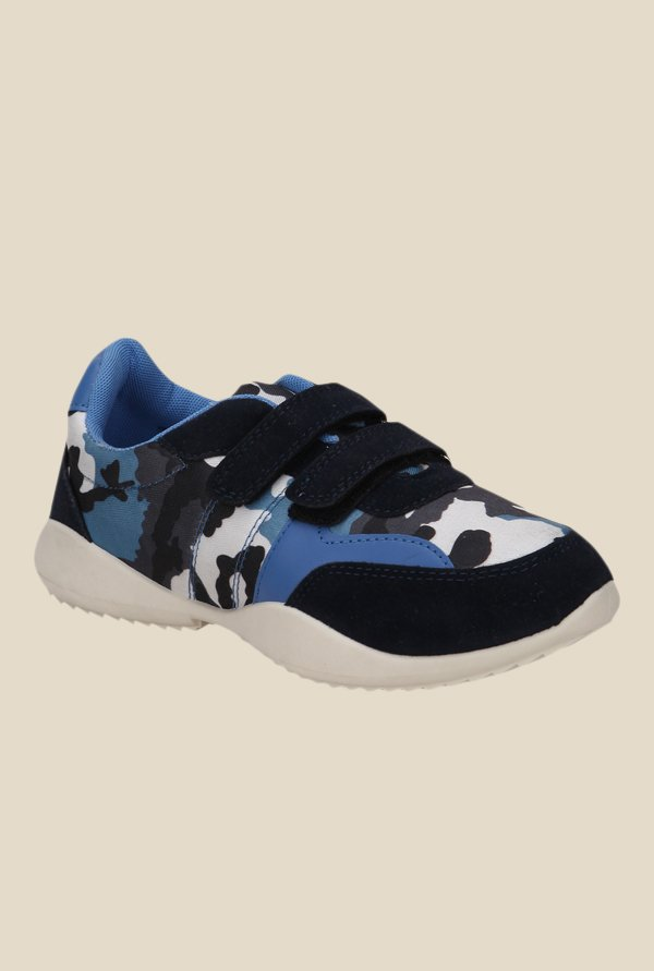 Yepme Navy & Sky Blue Casual Shoes