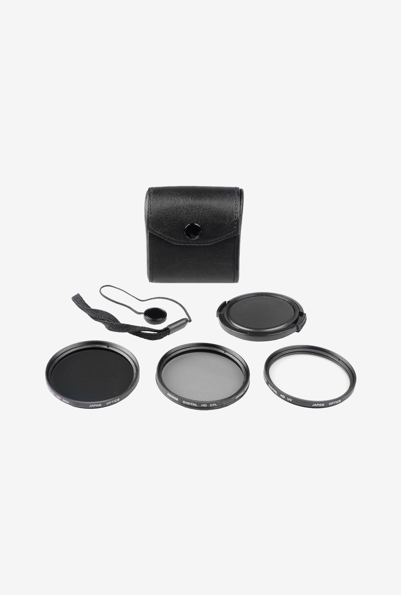 Bower VFK67C 5-Piece Digital Filter Kit (Black)
