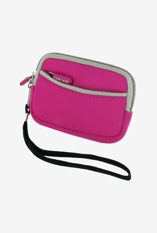 rooCASE Carrying Case for Nikon Coolpix S8100 (Magenta)