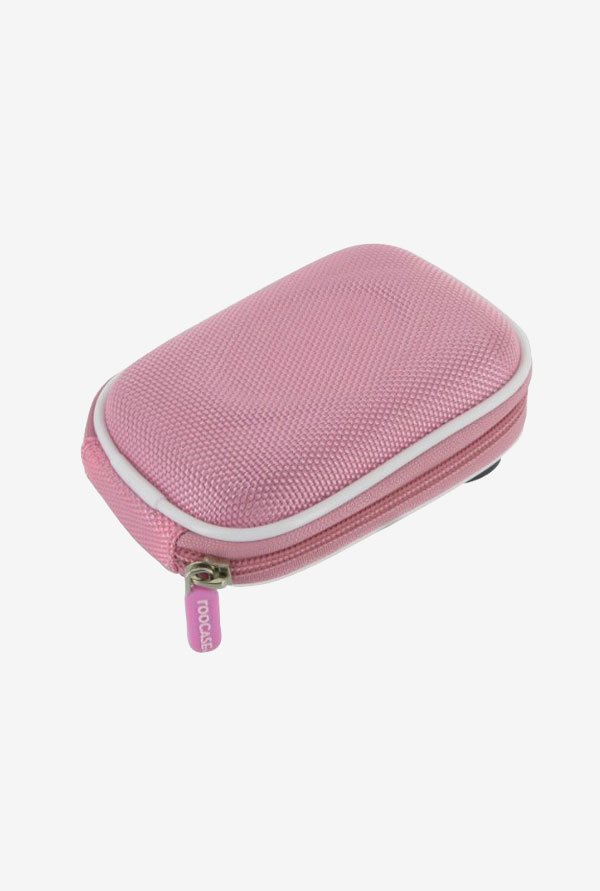 Roocase Nylon Hard Shell Case for Sony DSC-H70 (Pink)