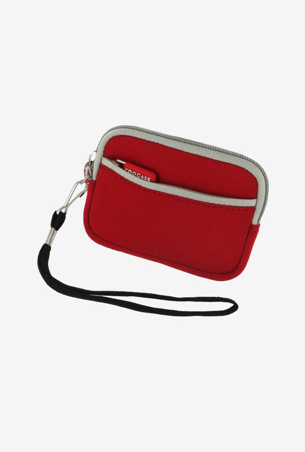 Roocase Neoprene Sleeve Case for Pentax Optio RZ18 (Red)