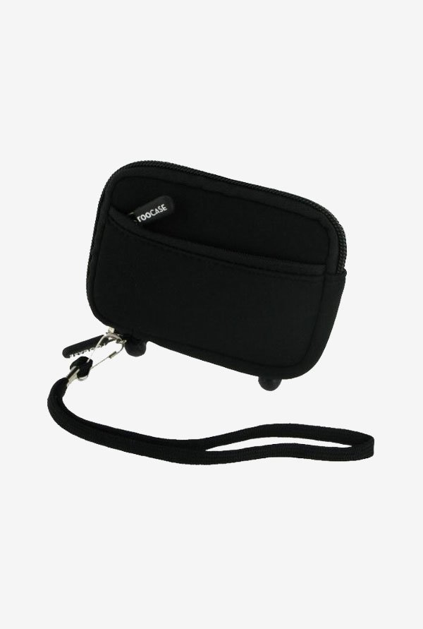 Roocase Neoprene Sleeve Case for Pentax Optio I-10 (Black)