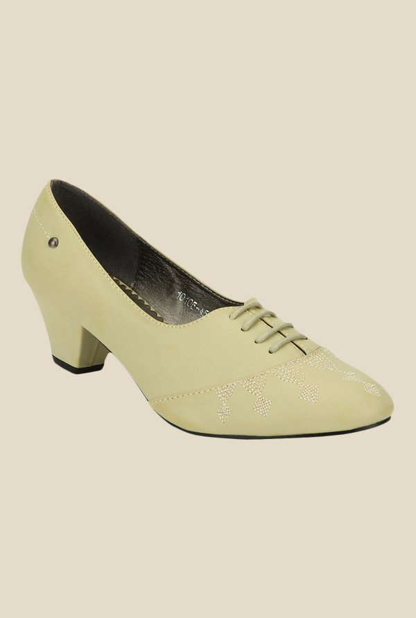 Yepme Beige Casual Pumps