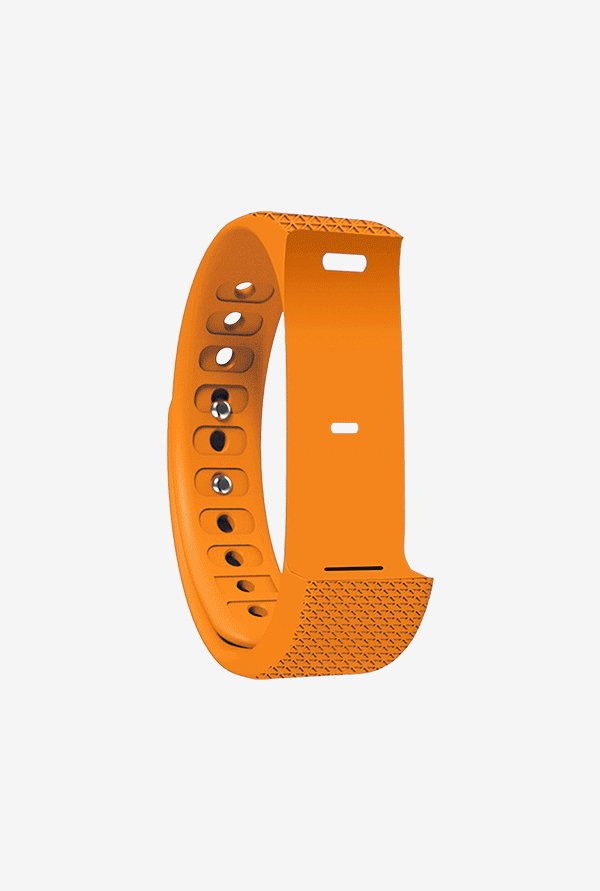 Shaman AQUA TOUCH Wrist Strap for Fitness Tracker (Orange)