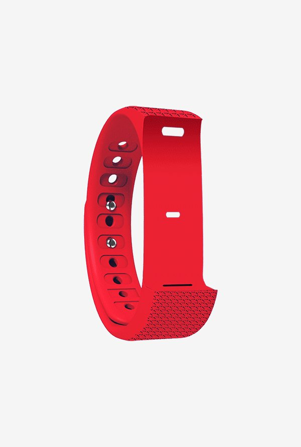 Shaman AQUA TOUCH Wrist Strap for Fitness Tracker (Red)