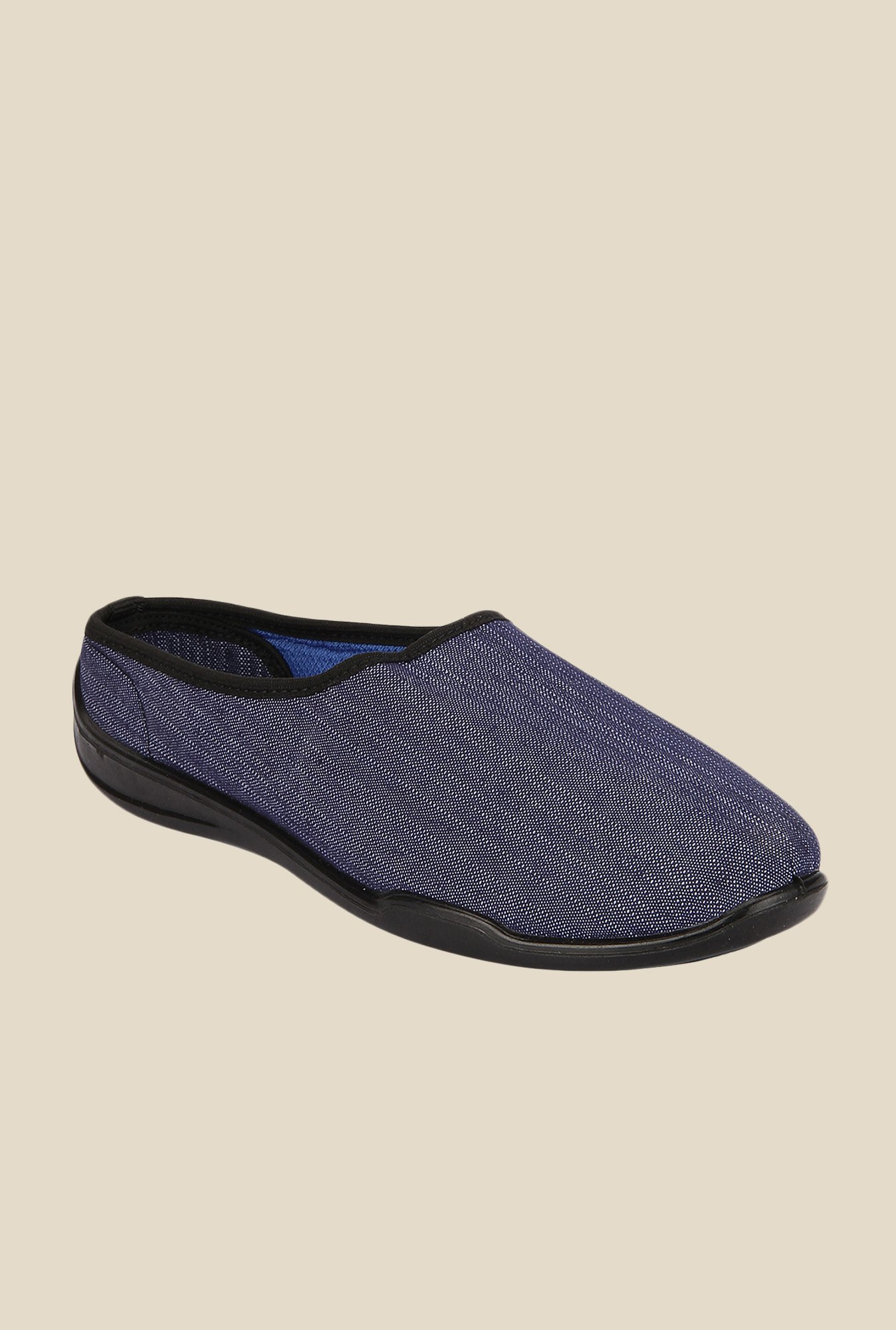Yepme Navy Mule Shoes