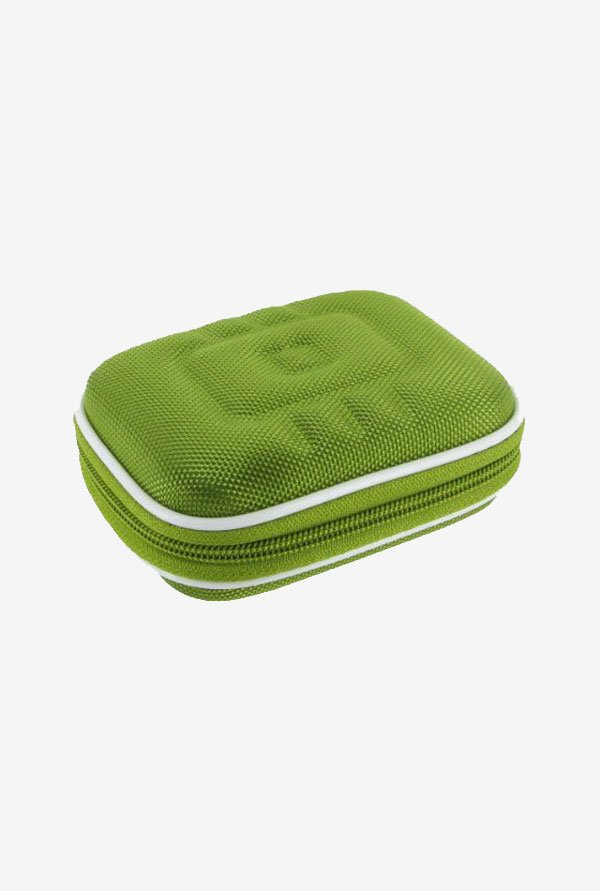 rooCASE Carrying Case For Pentax Optio W90 (Green)