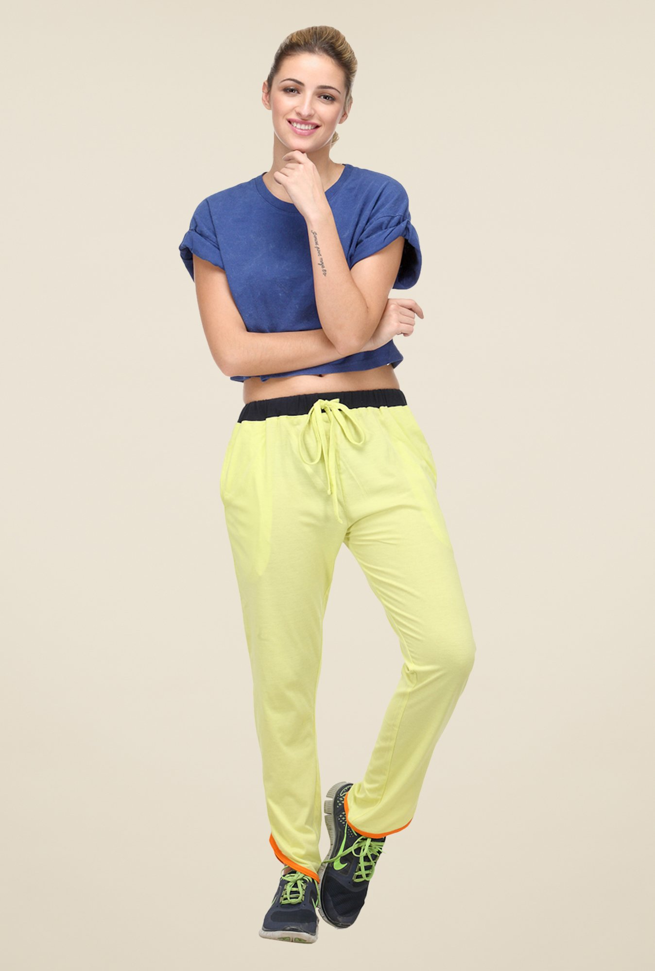 Yepme Lime Krissy Trackpants