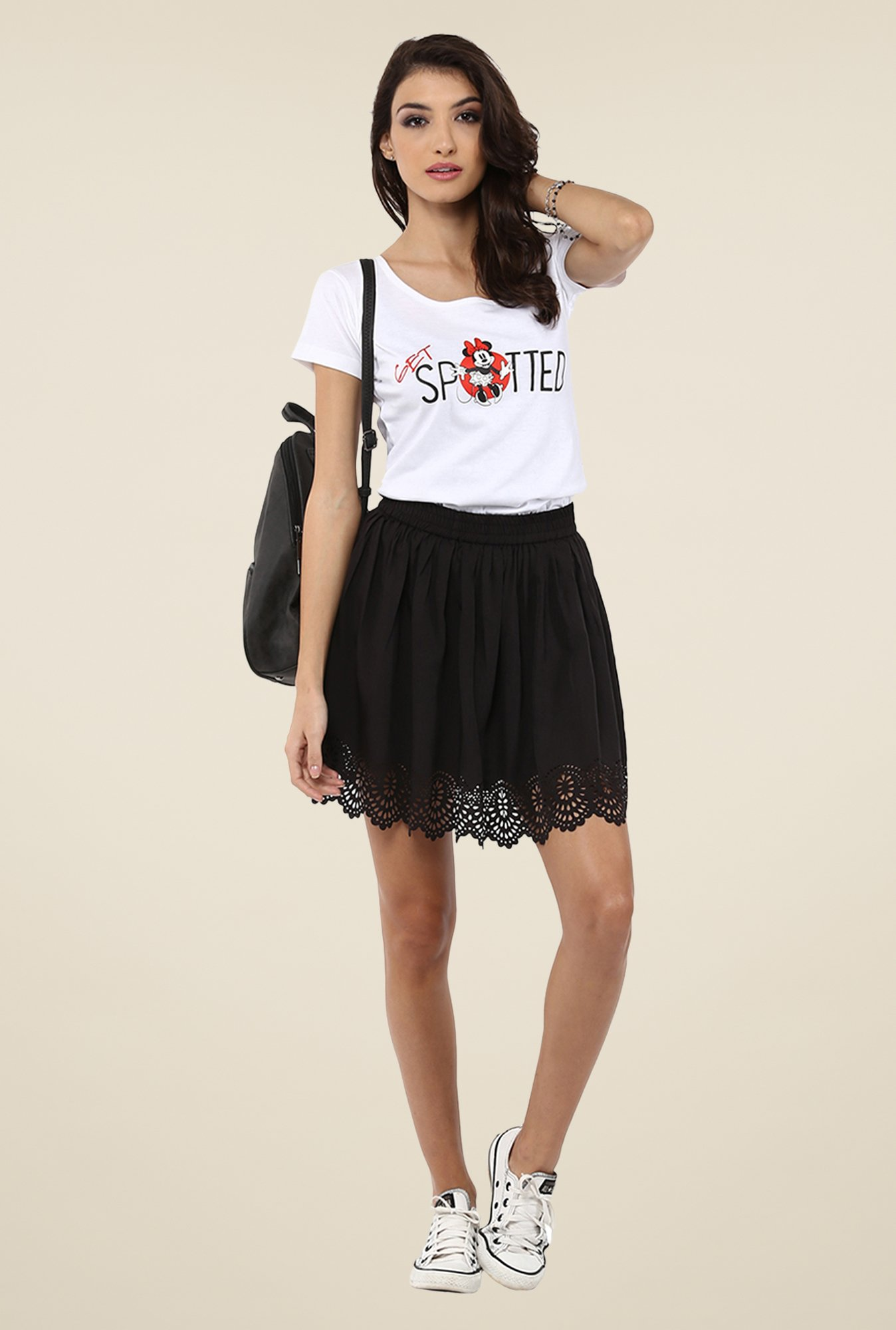 Yepme White Disney Top