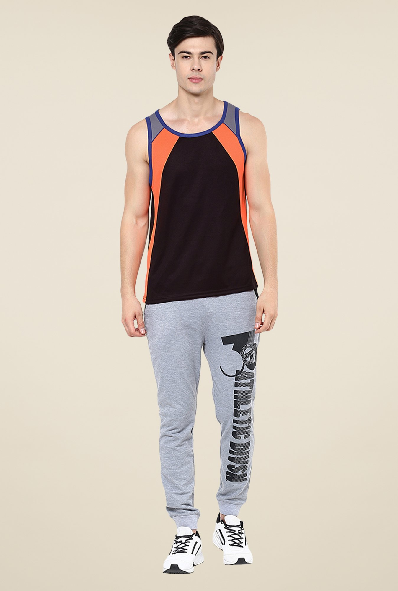 Yepme Black Crosby Muscle Vest
