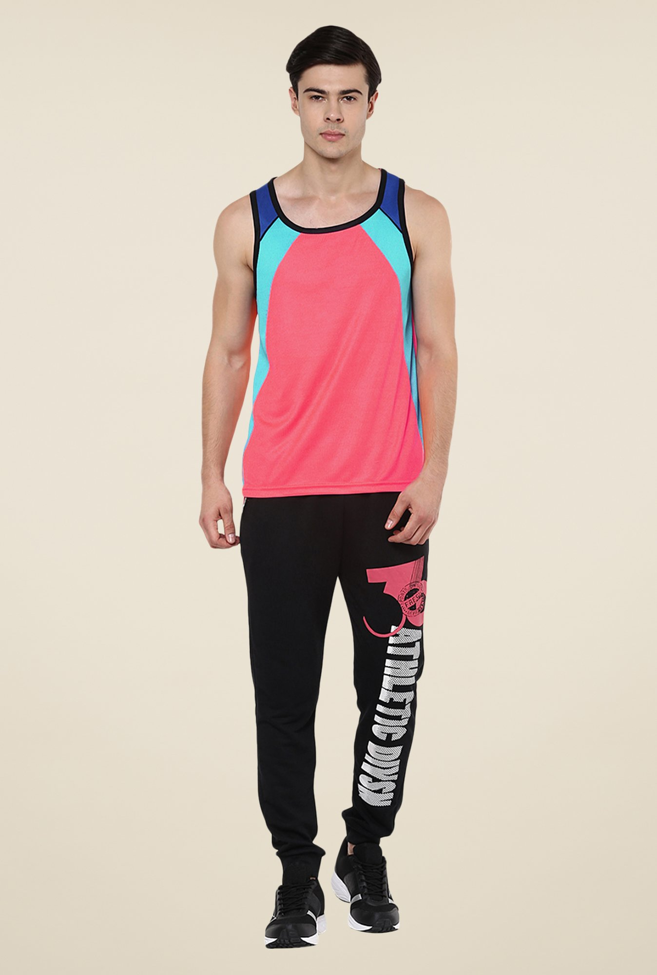 Yepme Peach Crosby Muscle Vest