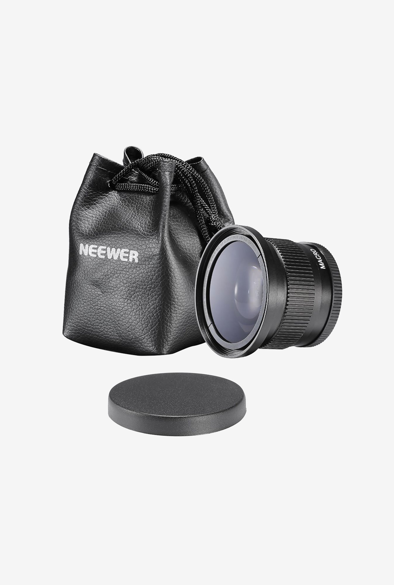 Neewer 58mm 0.35x Super Fisheye Wide Angle Lens (Black)