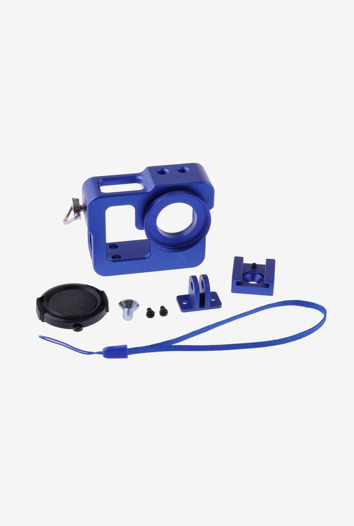 Neewer Border Shell with 37mm Lens Cap for Gopro Hero (Blue)