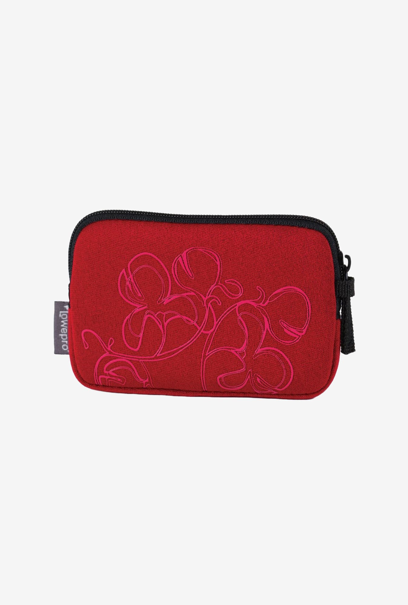 LowePro Melbourne 10 Camera Pouch (Red Floral)
