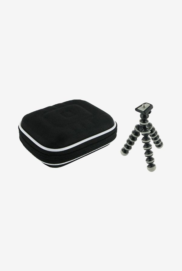 rooCASE Carrying Case with Tripod for Samsung AQ100 (Black)