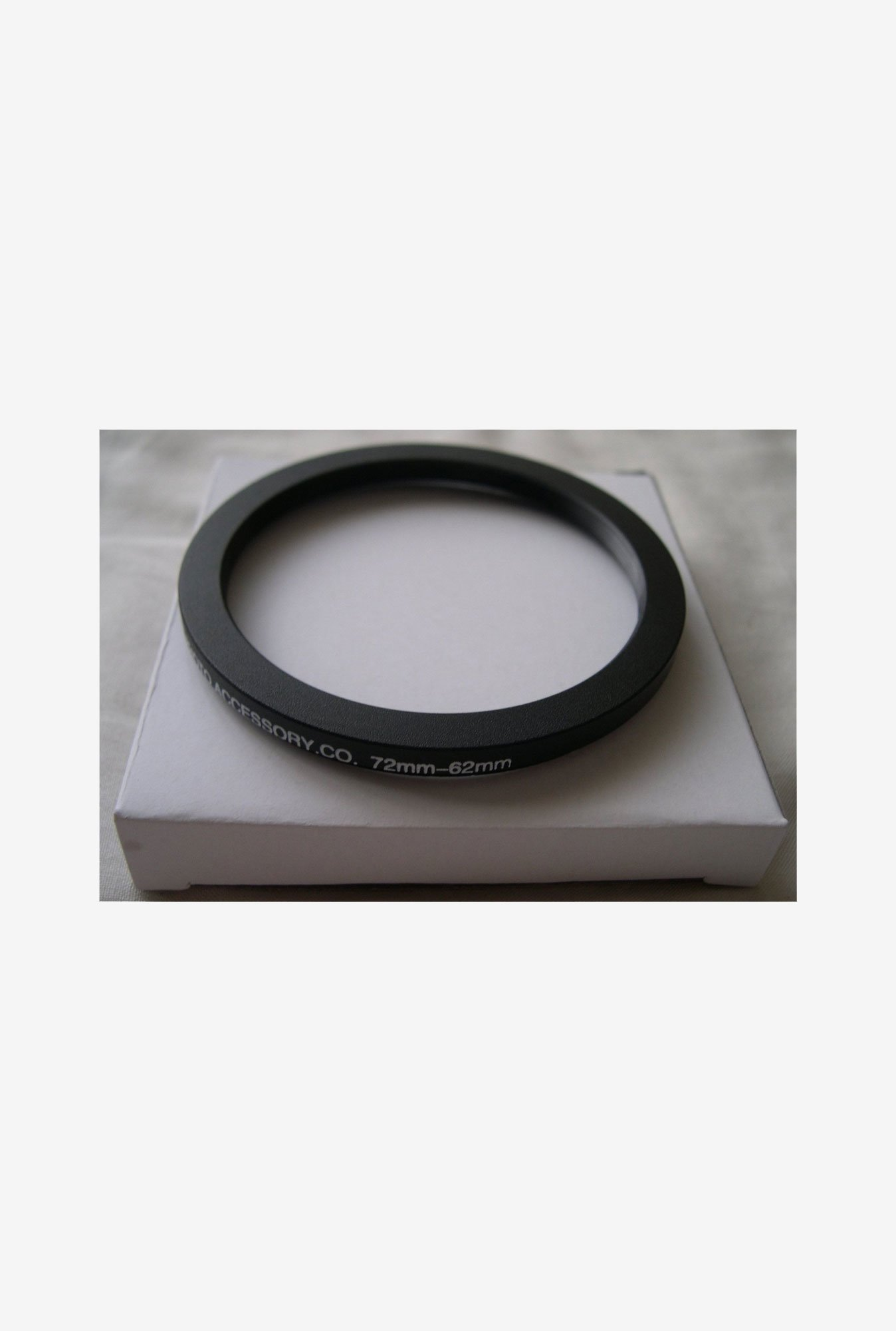 HeavyStar Dedicated Step-Down Ring 72mm to 62mm (Black)
