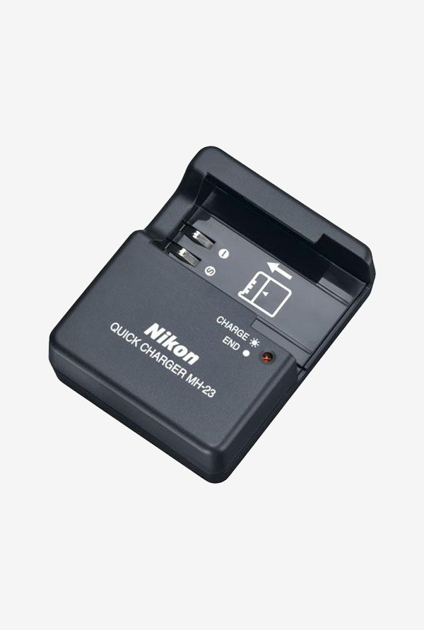 Nikon MH-23 Battery Charger for Nikon EN-EL9 Battery (Black)