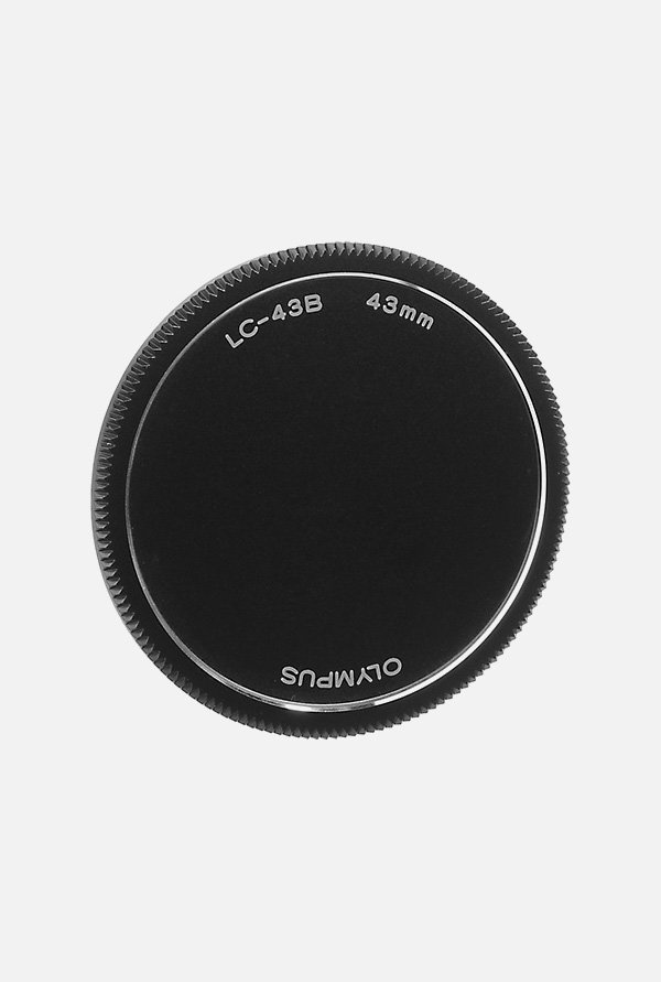Olympus 43mm Lens Cap LC-43B (Black)