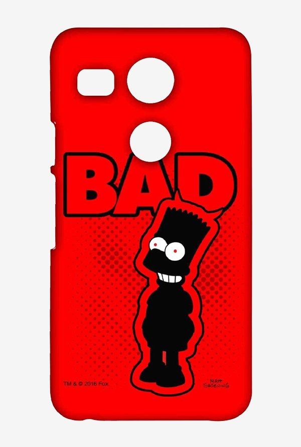 Simpsons Bad Case for LG Nexus 5X