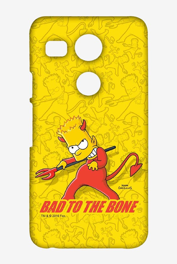 Simpsons Bad To The Bone Case for LG Nexus 5X